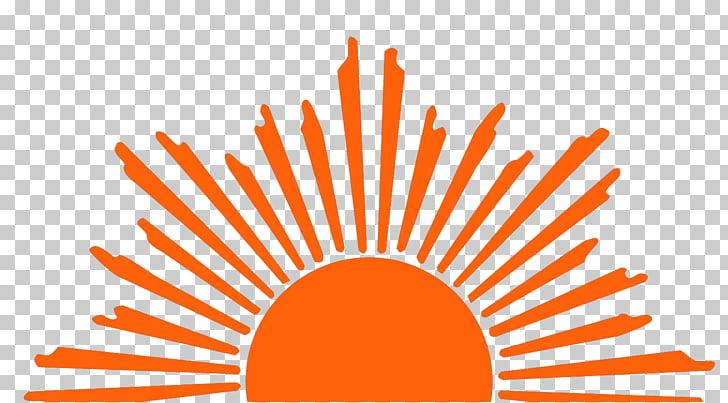 Sunrise , Sun Logo s, orange sun logo PNG clipart.