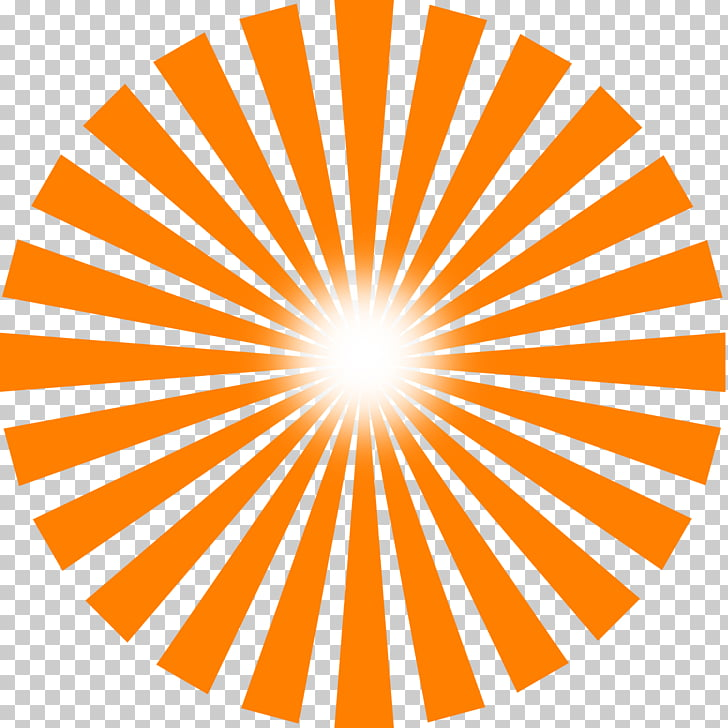 Sunlight Ray , Sun Rays, orange sun logo PNG clipart.