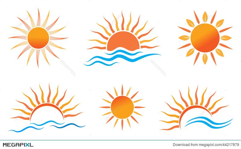 Sun Logo Illustration 44217879.