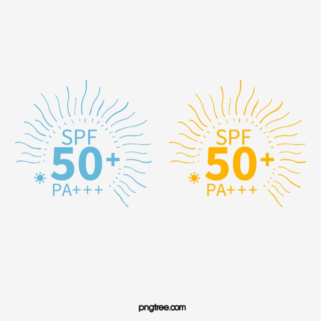 Blue Sunscreen Cosmetics Logo, Cosmetics, Summer, Sunlight.