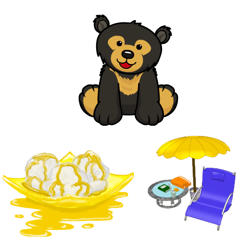 Webkinz Sun Bear.
