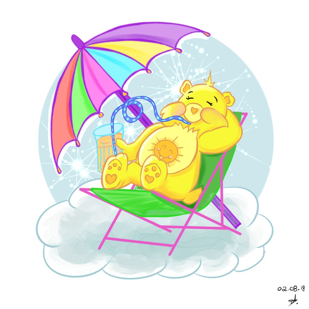 Today is being a very hot and warm sunny day wich made me.