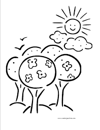 Image result for Black and white clip art of a sunny day.