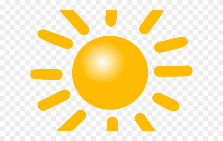 Sunny Clipart Icon.