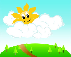 Clipart Sunny Day.