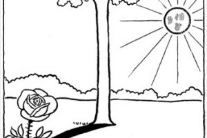 Sunny day clipart black and white 4 » Clipart Station.