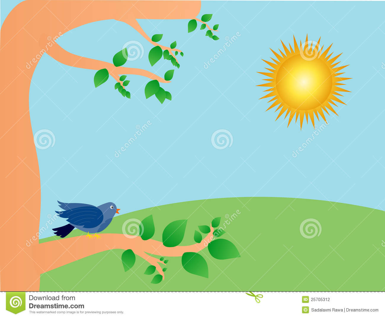 55+ Sunny Day Clipart.