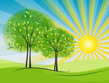 A Sunny Day Clipart.