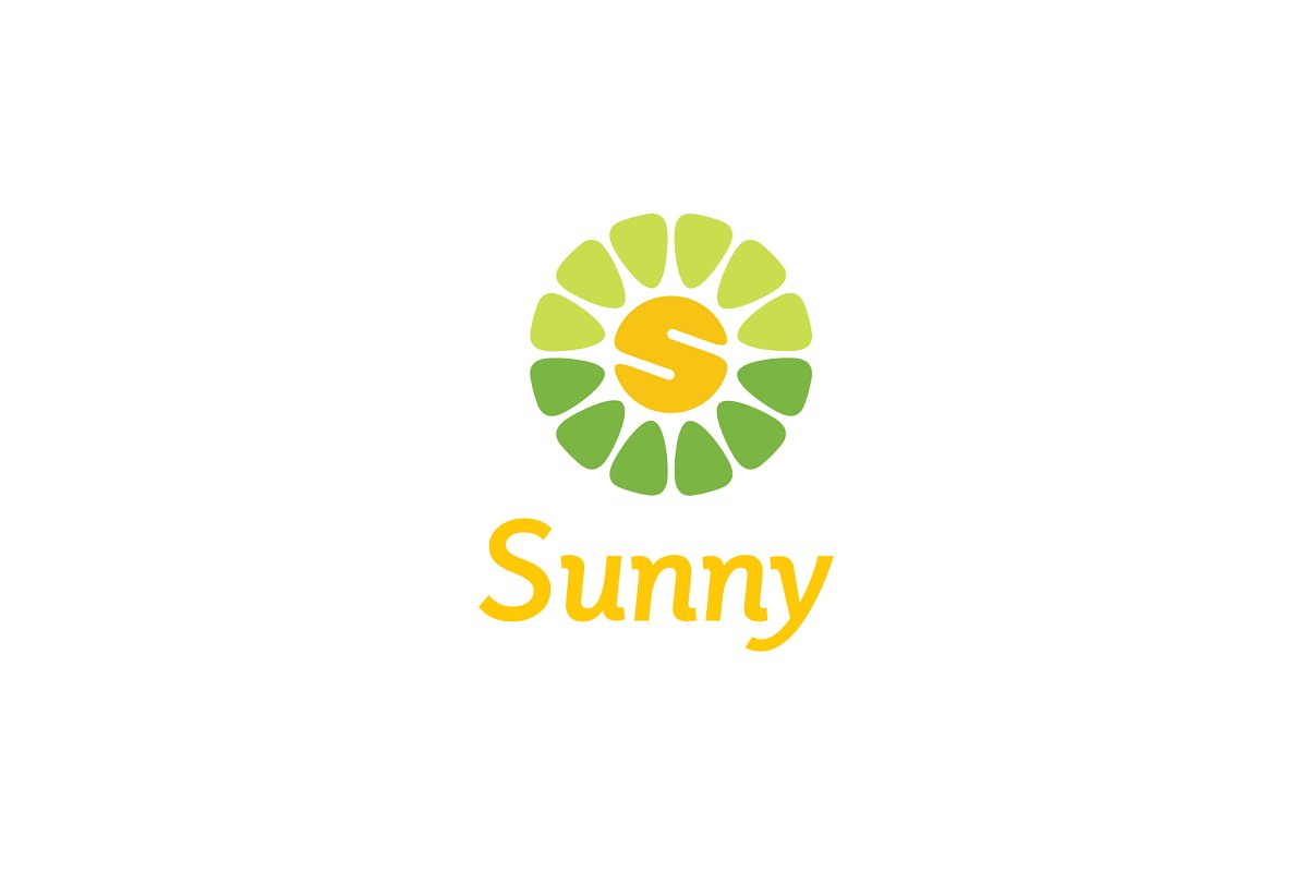 Colorful Sunny Nature logo design.