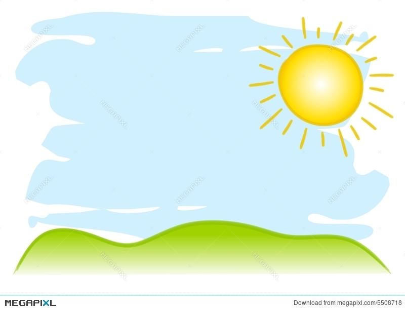 Sunny sky clipart 8 » Clipart Station.