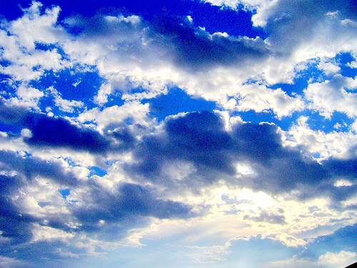 Download Free png Bright Sunny Sky.