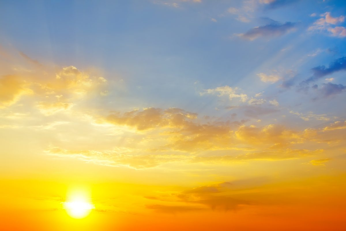 Welcome to our new blog \'Sunny Skies\'.