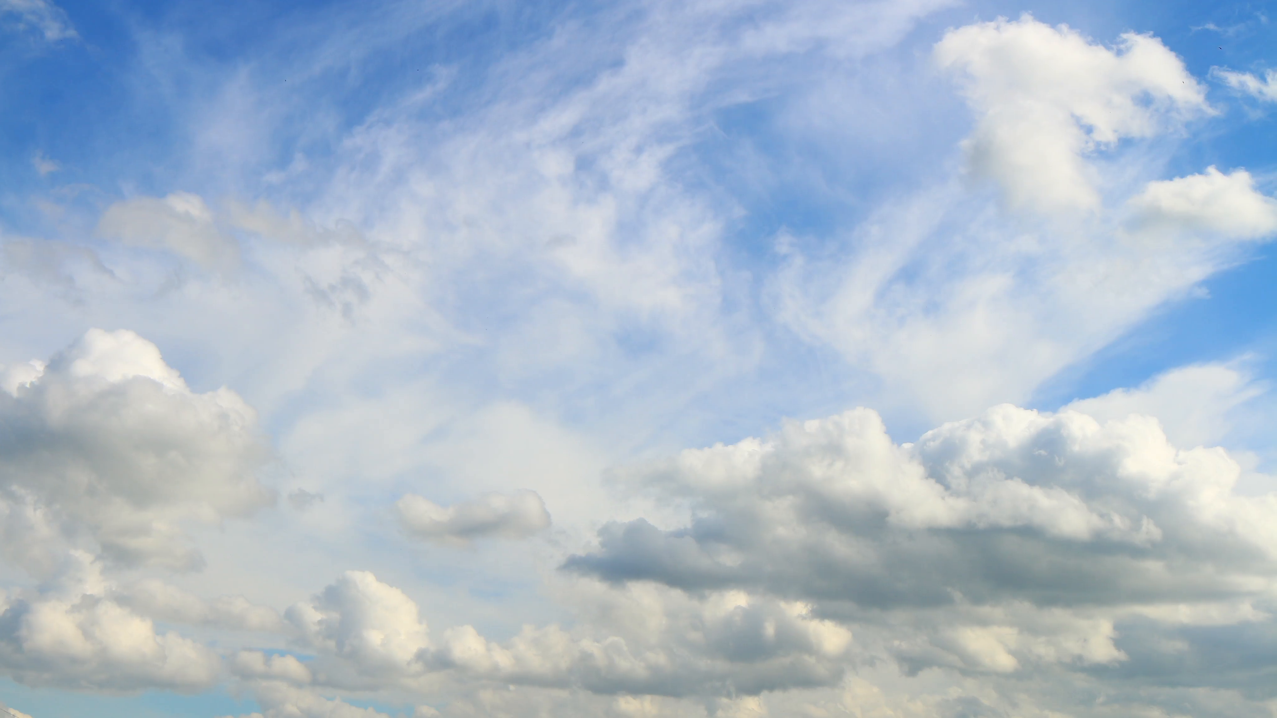 cloudy light sky sunny day sky with white clouds 4k time lapse Stock Video  Footage.