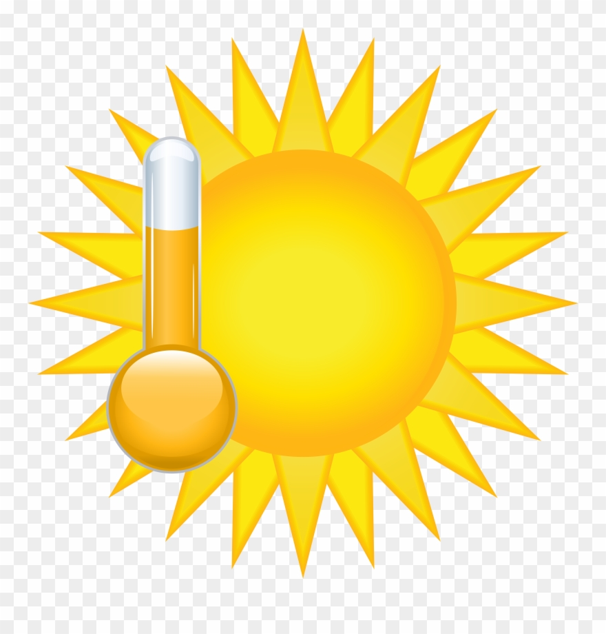Sunny Weather Icon Png Clip Art Transparent Png (#249212.