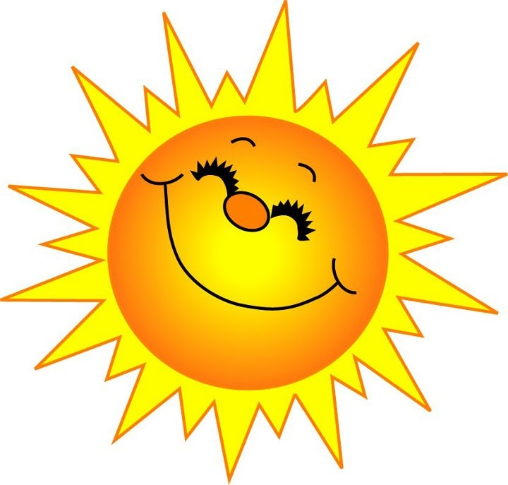 Clipart sunny weather.