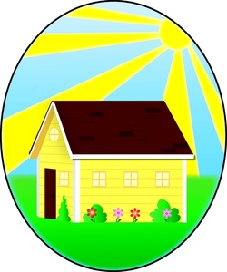 Home Clipart Image.
