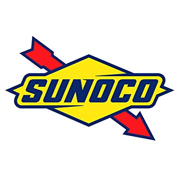 Amazon.com: Sunoco Logo OriginalStickers0750 Set Of Two (2x.