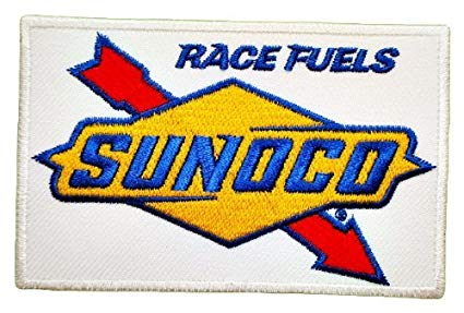 Sunoco Race Fuels NHRA NASCAR Drag Racing Patch Sew Iron on Logo  Embroidered Badge Sign Emblem Costume BY Dreamhigh_skyland.