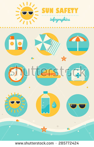 Sun Protection Stock Vectors, Images & Vector Art.