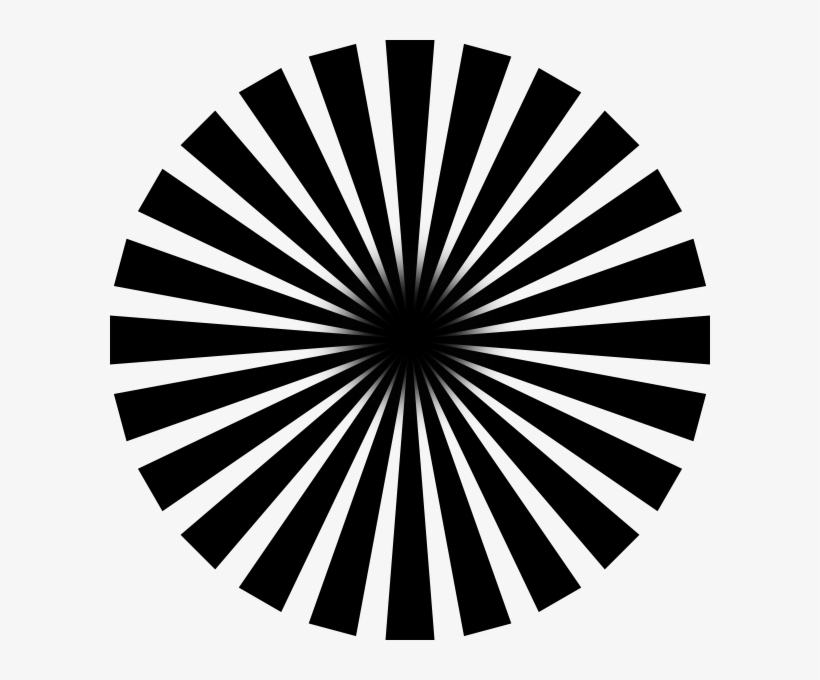 Black Sun Rays Clip Art At Clker.