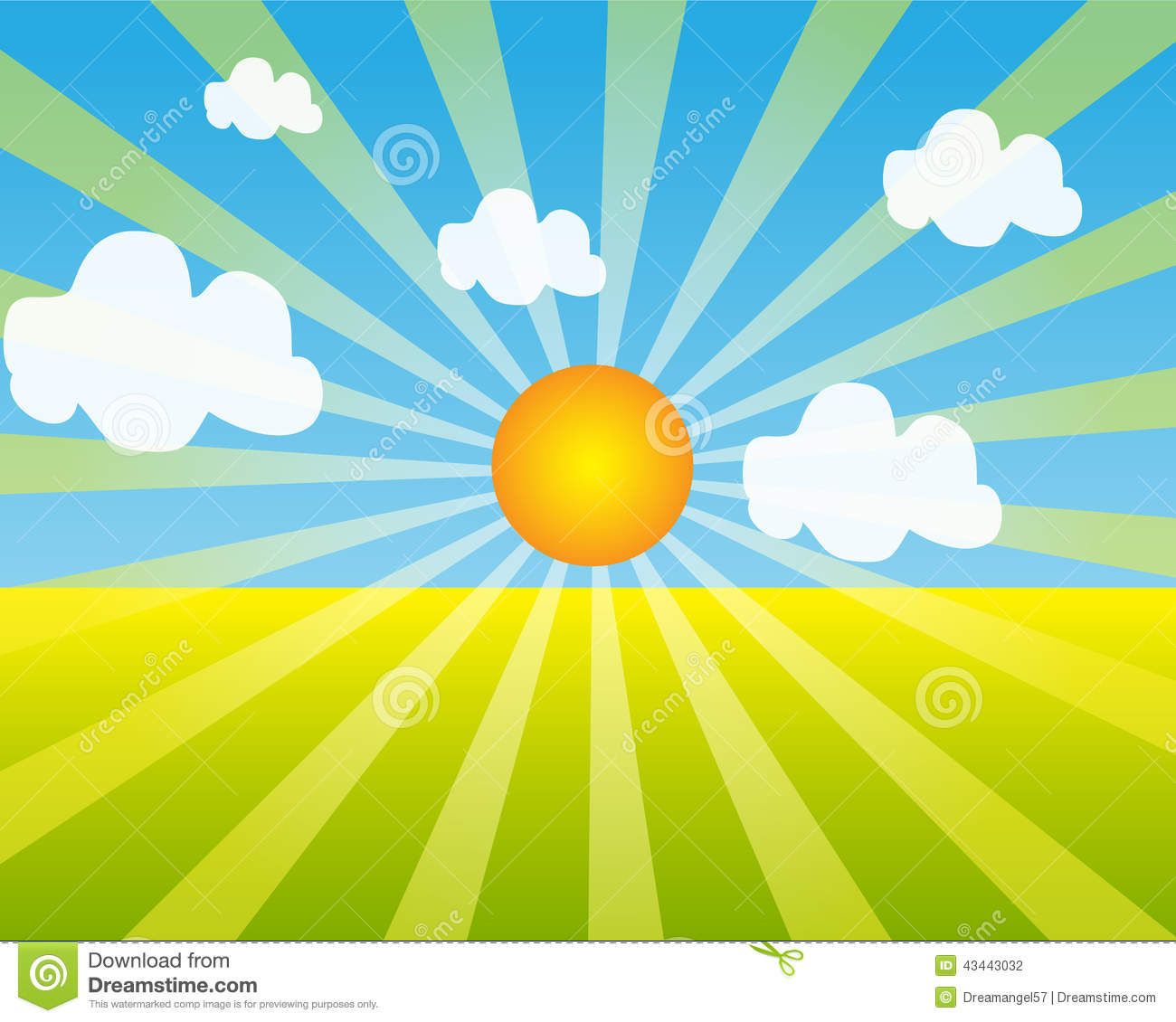 Sunrise background clipart 4 » Clipart Station.