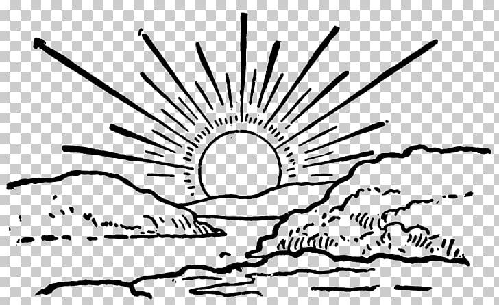 Sunrise Sunset , Sunrise File, white illustration PNG.