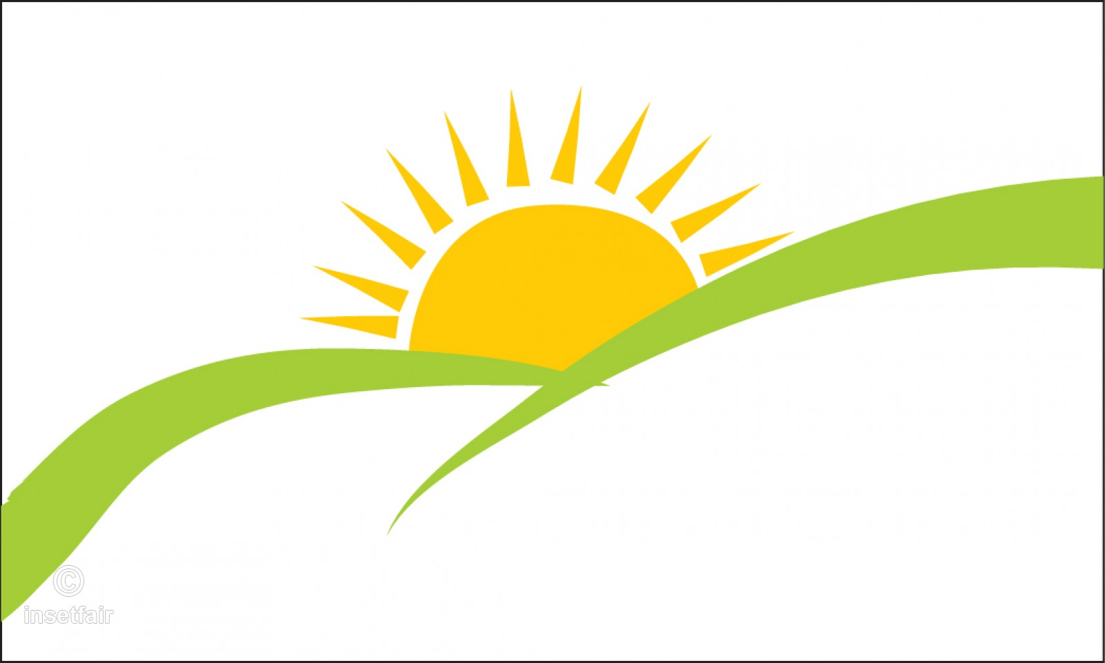 Simple Sunrise clipart.