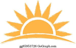 Sunrise Clip Art.