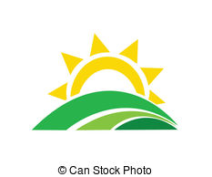 Sunrise Clipart Vector.
