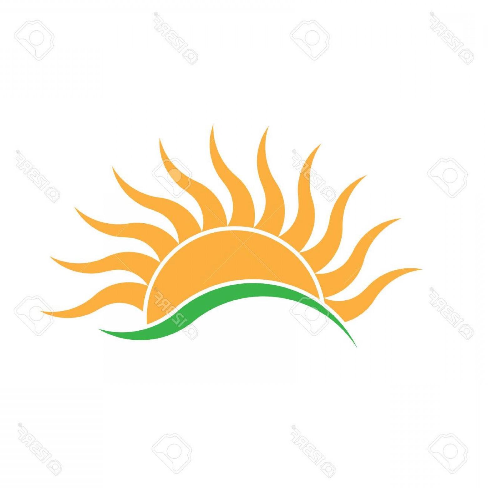 Sunrise Vector Logo.