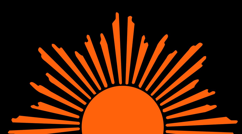 Sunrise icon.