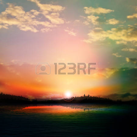 5,448 Sunrise Field Cliparts, Stock Vector And Royalty Free.