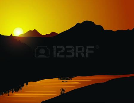 2,820 Calm Lake Cliparts, Stock Vector And Royalty Free Calm Lake.