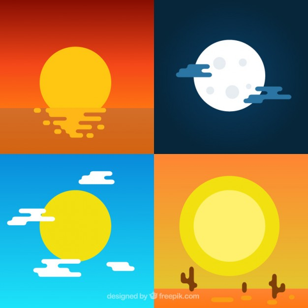 Sunrise Sunset Icon #323825.