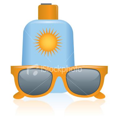 Sunscreen Clipart.