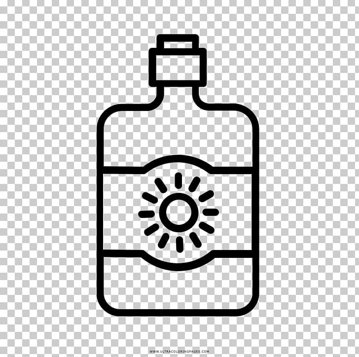 Sunscreen Drawing Coloring Book Lotion Factor De Protección.
