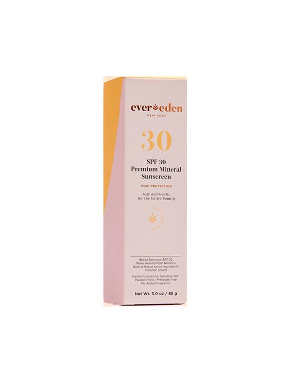 Premium Mineral Sunscreen SPF 30.