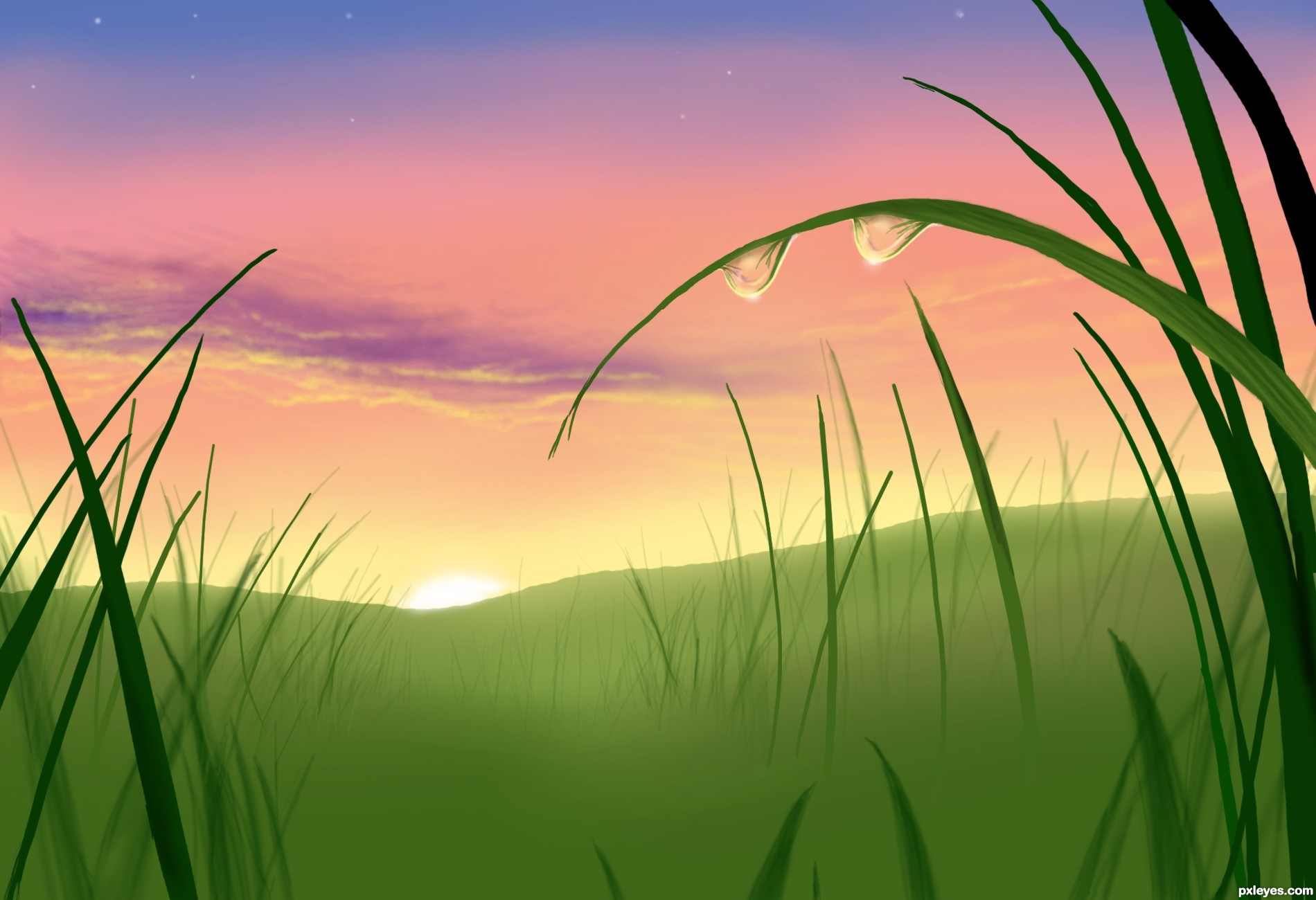 Sunrise picture, by marina08 for: sunrise sunset drawing.