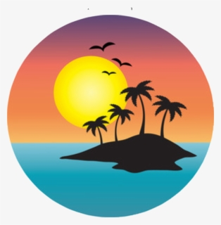 Free Sunset Clip Art with No Background.