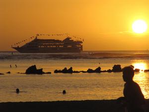 Free Vacation Photo Clip Art Image.