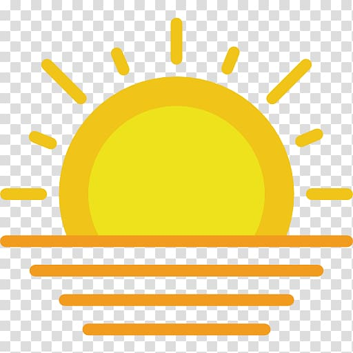 Computer Icons Icon design, sunset transparent background.