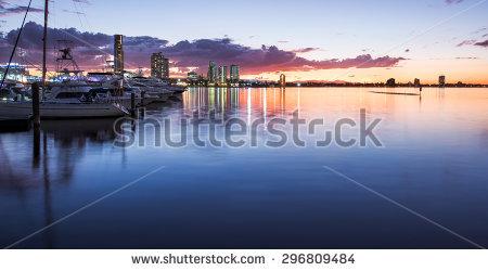 Gold Coast Stock Photos, Royalty.