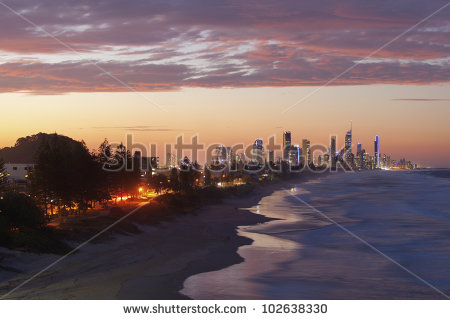 Gold Coast Stock Photos, Royalty.