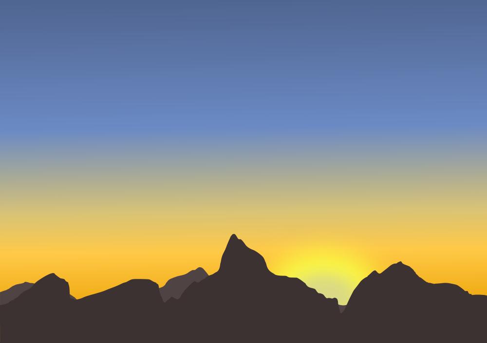 Mountain Sunset.
