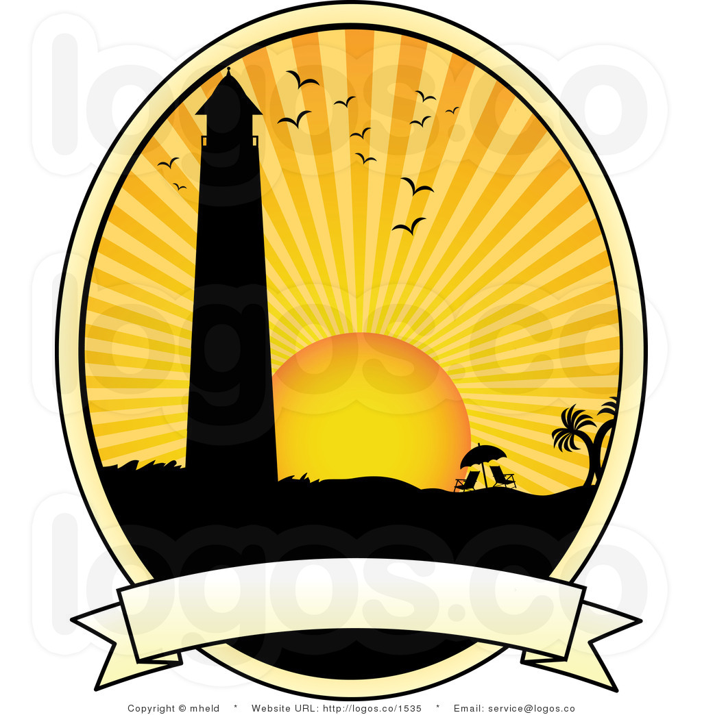 10908 Sunset free clipart.