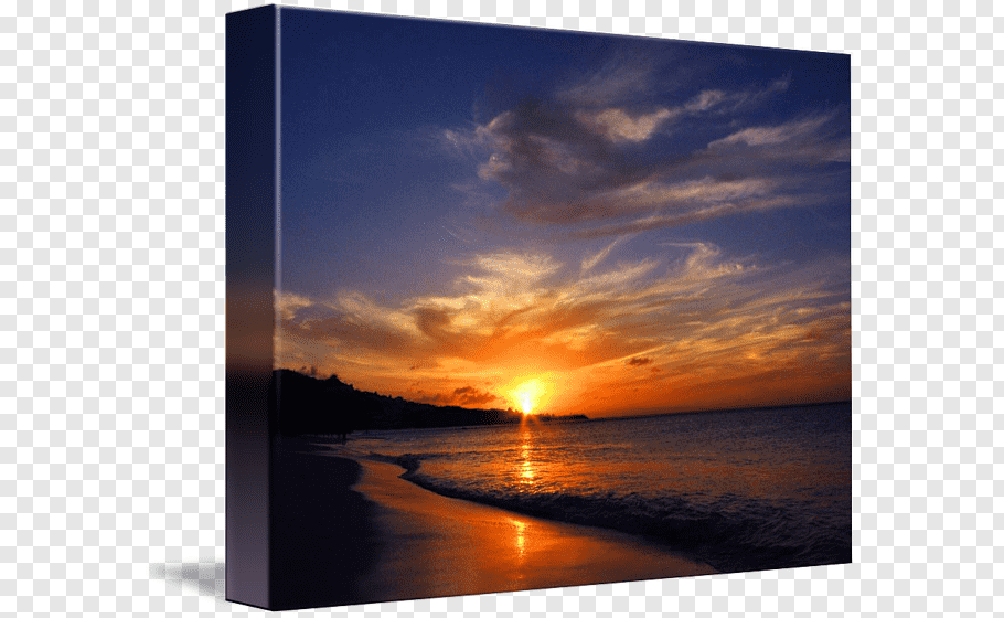 Sea Sunset cutout PNG & clipart images.