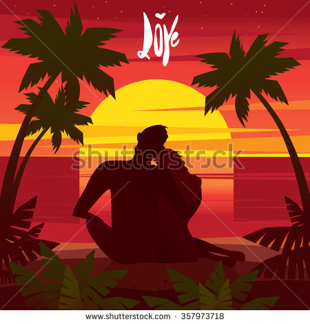 Admires Sunset Stock Vectors & Vector Clip Art.