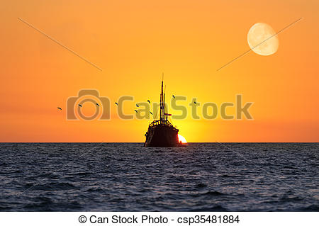 Pictures of Ship Sunset.