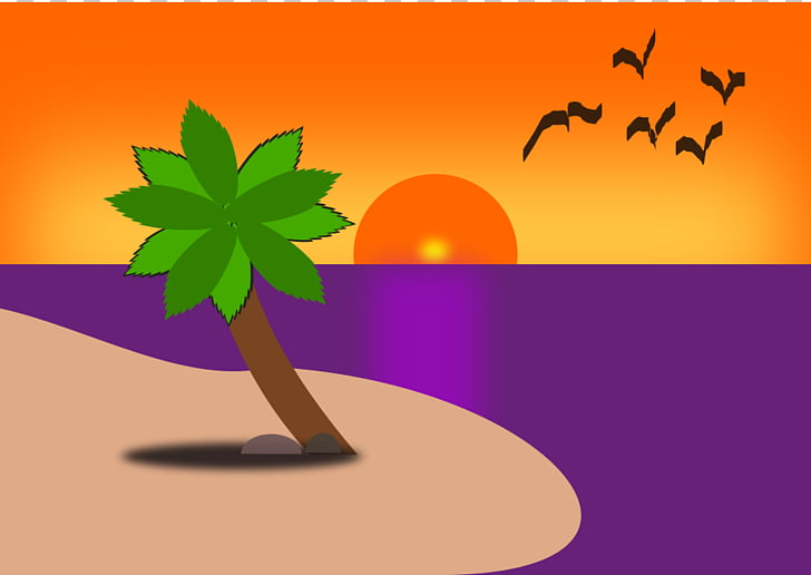 Cherai Beach Sunset , Beach Homes s PNG clipart.