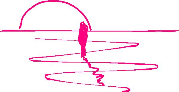 Pink Sunset Clip Art at Clker.com.